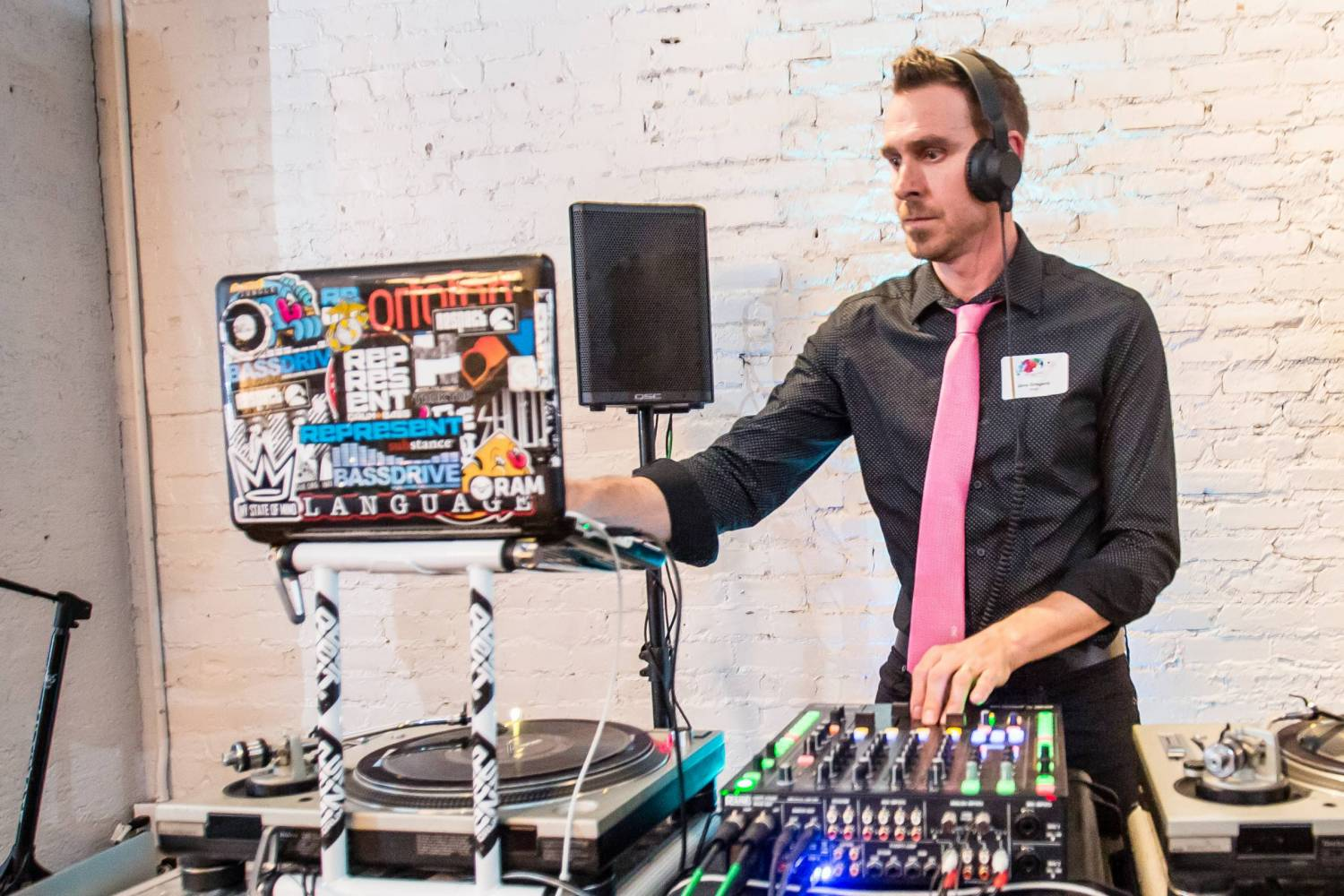 DJ at Brushes with Cancer Austin