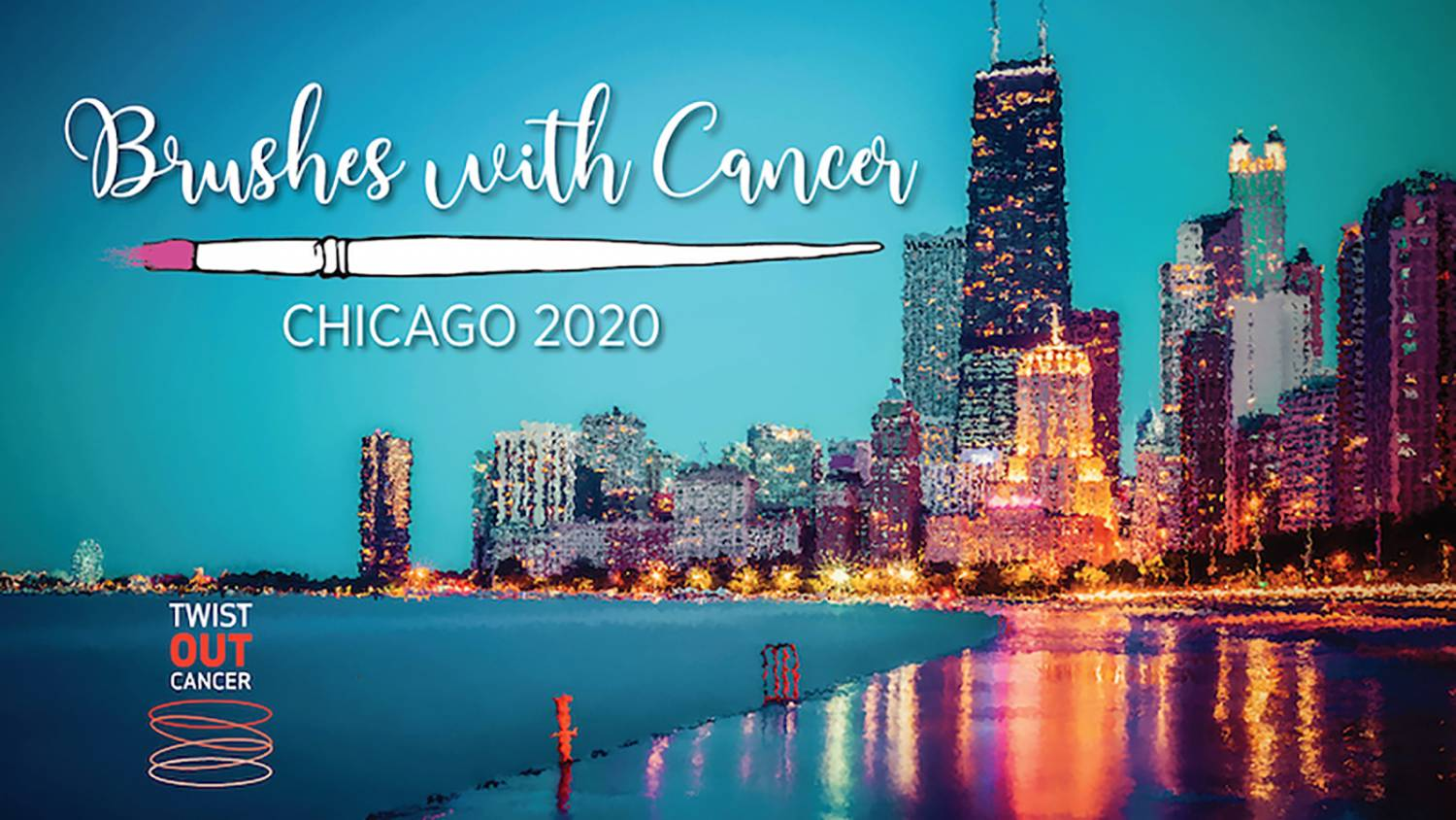 Brushes with Cancer Chicago Logo