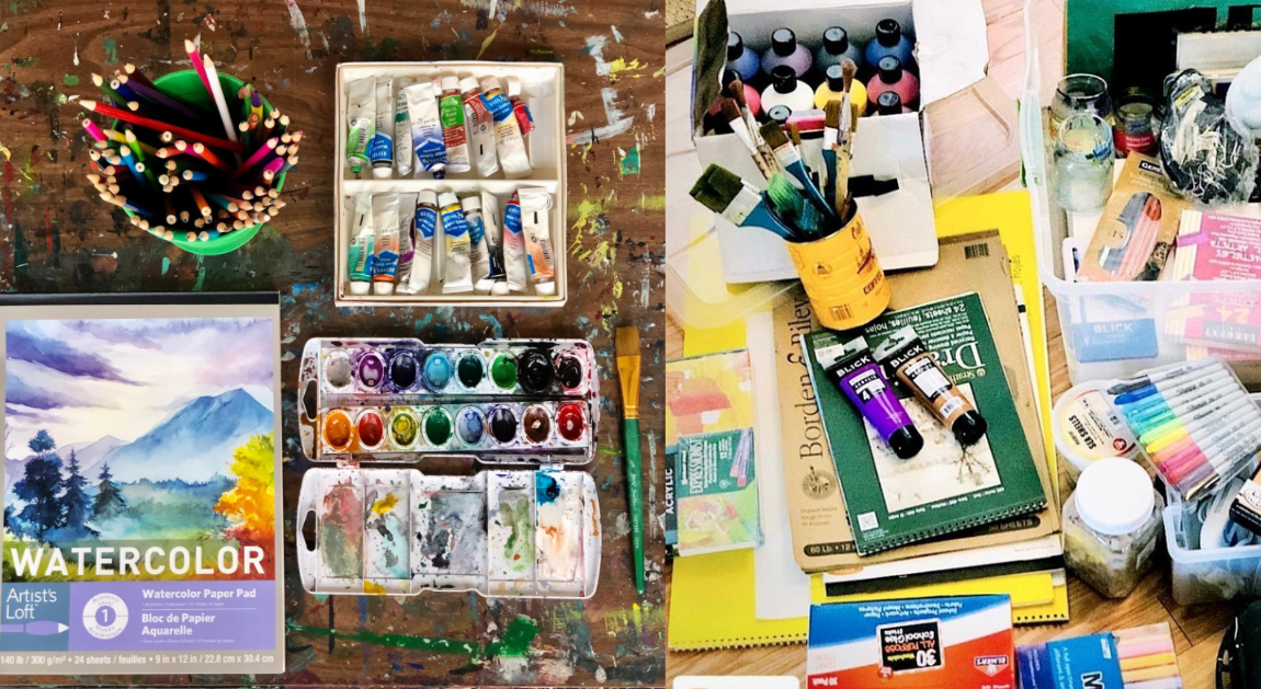 "How to Create Your ""Art Therapy"" Tool-Kit"