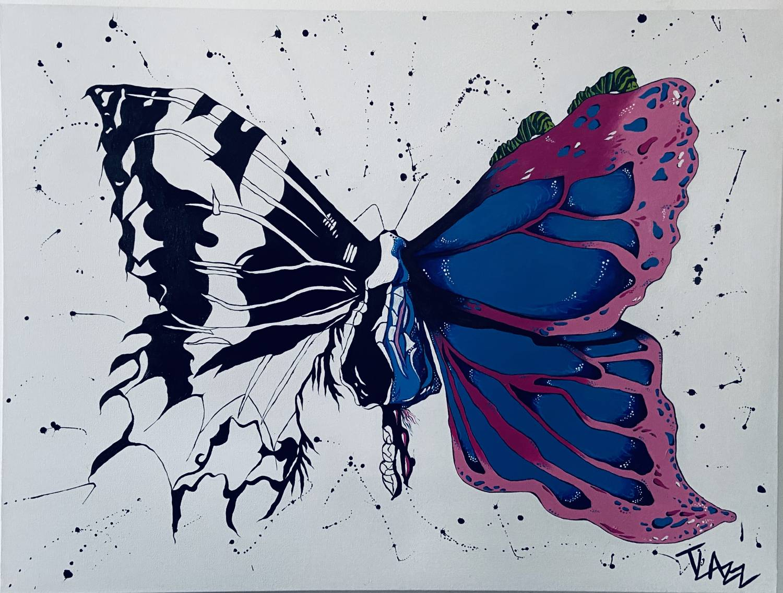 Inspiration Briana Camilleri and Artist Taylor Lazzara Connect Through Rebirth
