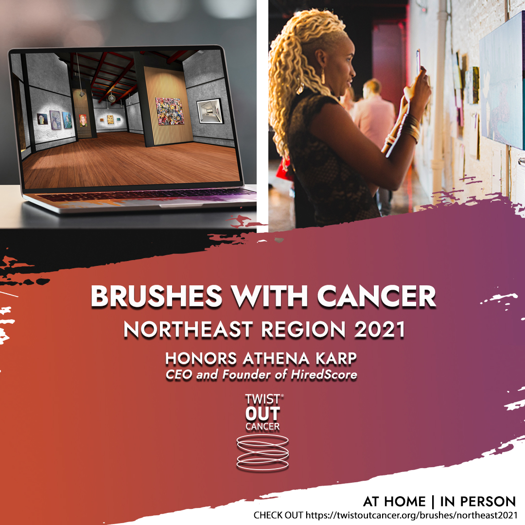 Attend the 2021 Northeast Brushes with Cancer Art Exhibition and Virtual Celebration