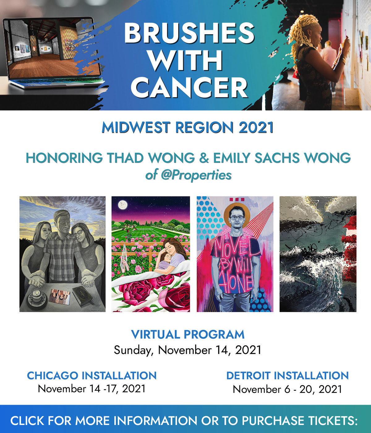 Twist Out Cancer Celebrates 10th Anniversary at Midwest Brushes with Cancer Event