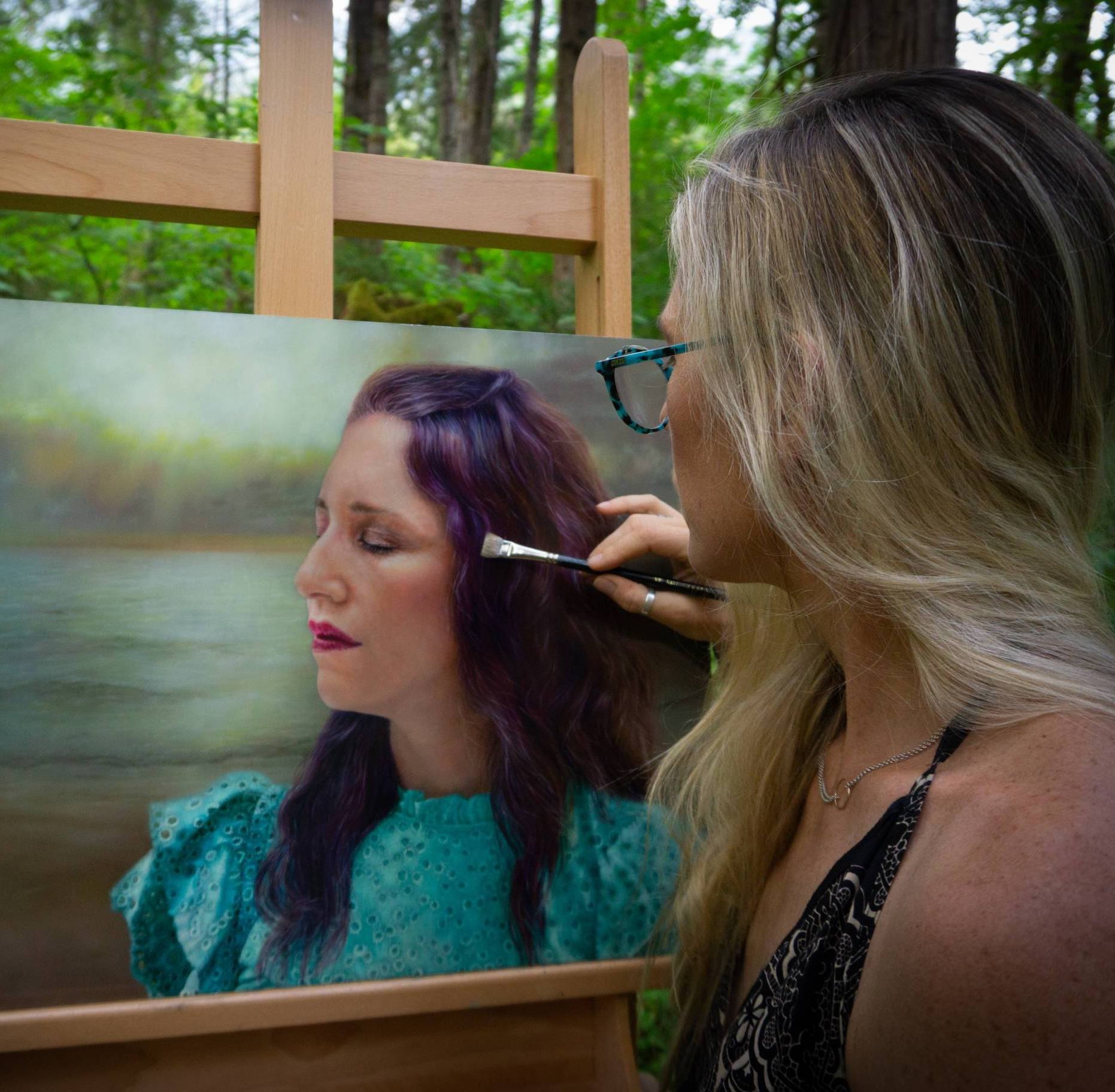Kate Van Doren Perfectly Captures Jenna Benn Shersher's Beginning, Middle and Now